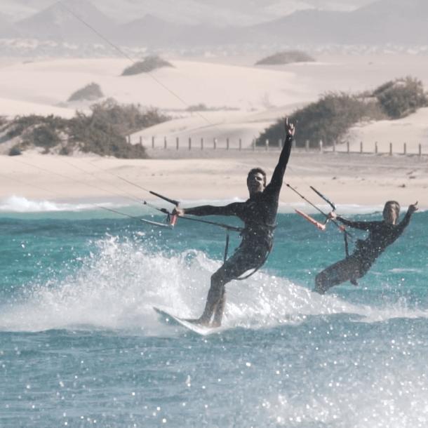 Surfescape Fuerteventura kite